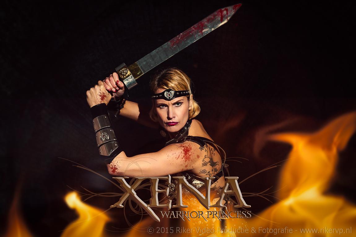 Xena Gladiator shoot – Creatief Fotograaf Zwijndrecht