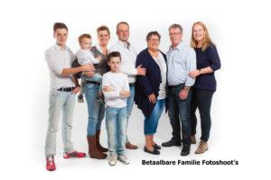 Betaalbare Familie Fotoshoots
